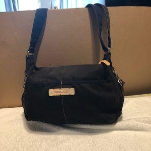 Handbags - FOSSIL VINTAGE BLACK SHOULDER BAG